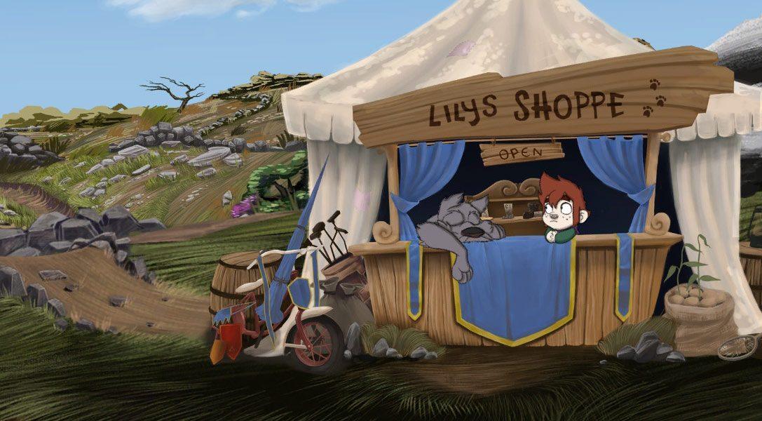 L'aventure familiale artisanale The Little Acre arrive sur PlayStation 4 le 22 novembre.