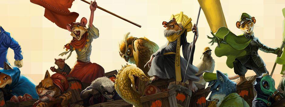 Le jeu STR arcade Tooth and Tail sort sur PlayStation 4