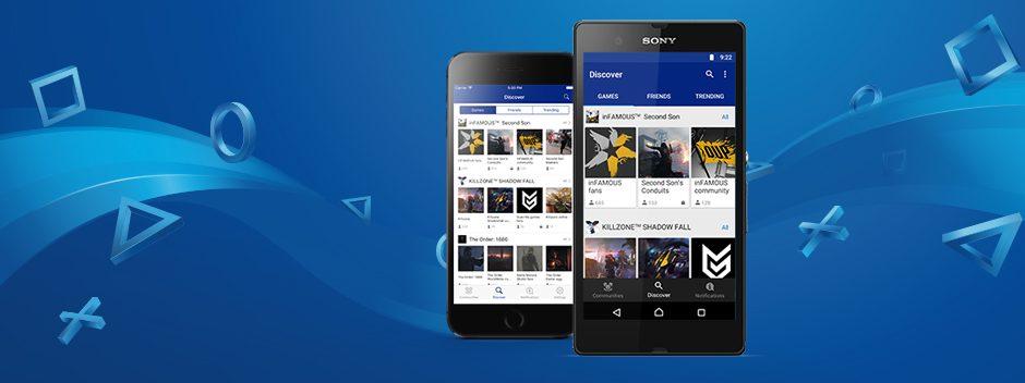 L'app Communautés PlayStation sort sur iOS et Android aujourd'hui