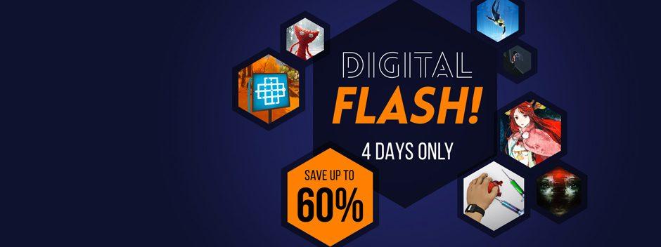 Les soldes Digital Flash commencent aujourd'hui sur le PlayStation Store