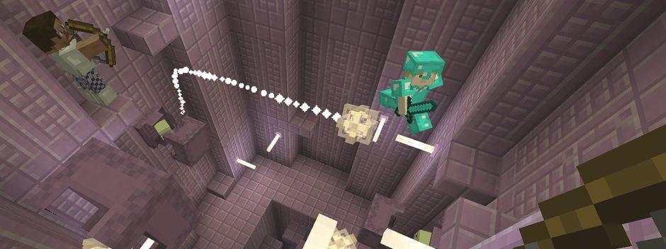 Envolez-vous avec la nouvelle mise à jour de fin d'année de Minecraft !