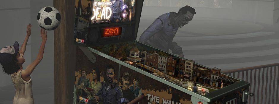 Pinball FX2 VR débarque sur PlayStation VR avec The Walking Dead Pinball !