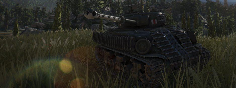 World of Tanks : un champ de bataille amélioré pour PS4 Pro