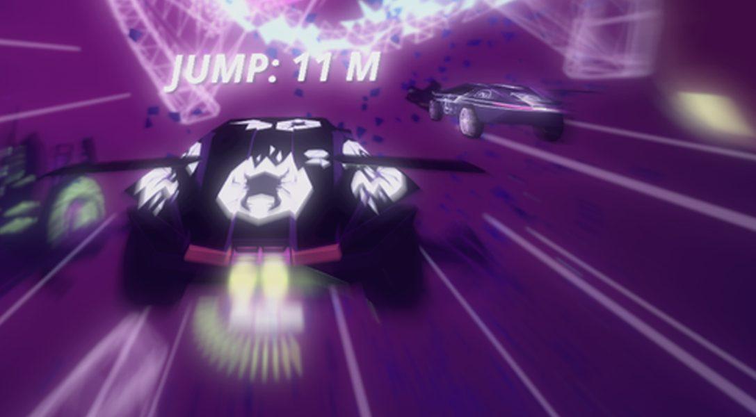 Conduisez sur plusieurs pistes simultanément dans le jeu de course arcade Drive!Drive!Drive! sur PS4, disponible le 13 décembre