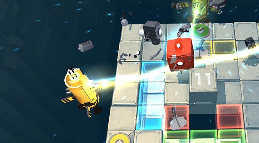 Le jeu de réflexion en coopération Death Squared mettra votre amitié à l'épreuve début 2017 sur PS4