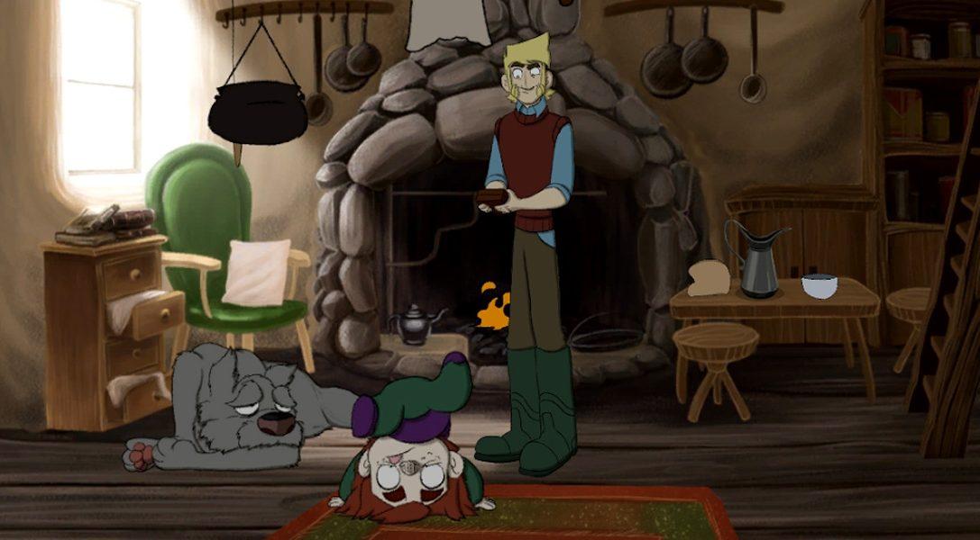 Les quatre ans d'animation qui ont permis de donner vie à The Little Acre sur PS4