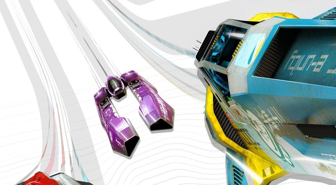 La WipEout Omega Collection annoncée sur PS4 à PSX