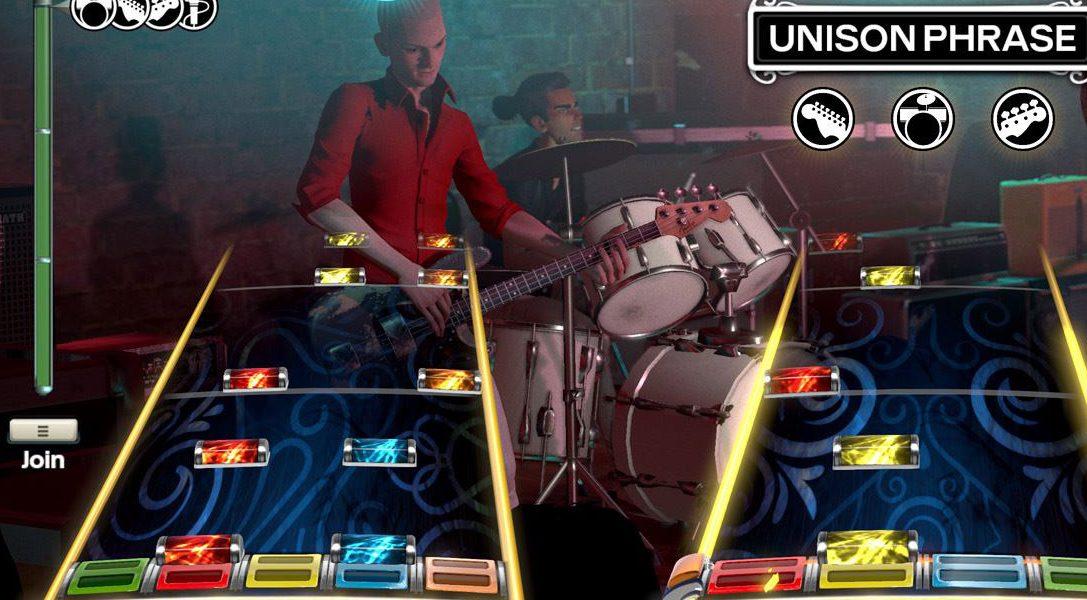 Harmonix sortira les DLCs de Rock Band sur PS4 à partir de janvier
