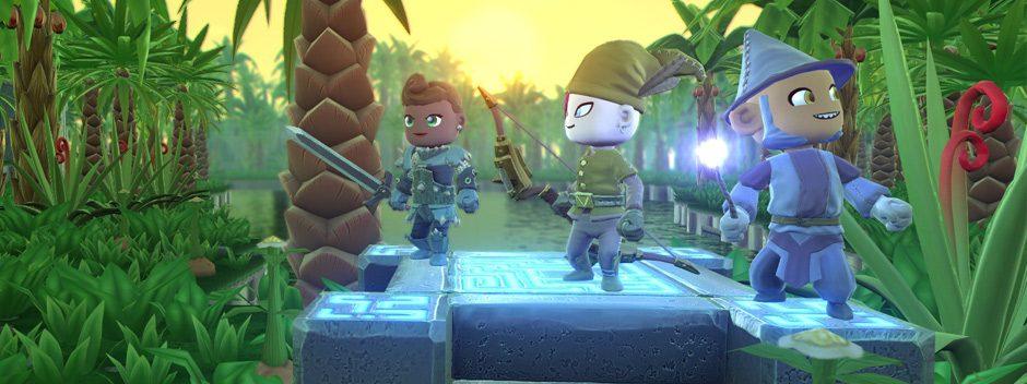Le RPG d'action bac à sable Portal Knights arrive sur PlayStation 4