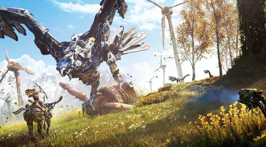 Un bundle Horizon Zero Dawn PS4 annoncé, avec 3 mois de PlayStation Plus en bonus