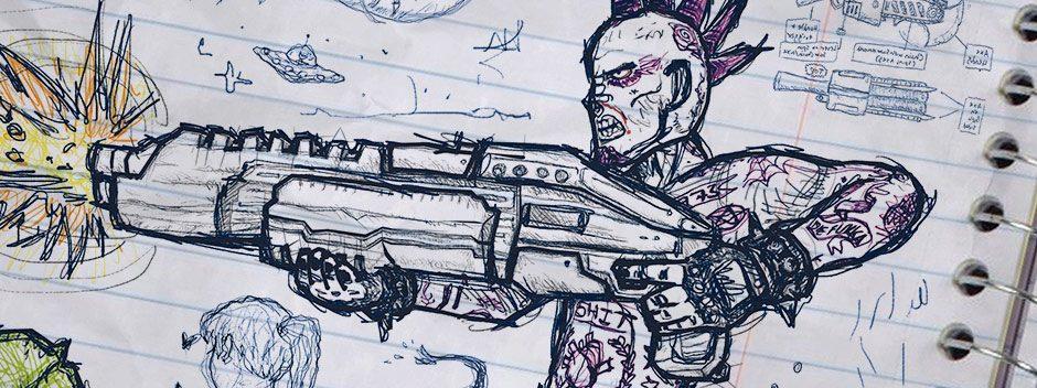 David Jaffe nous explique comment Drawn to Death, son shooter par équipe sur PS4, se place en jeu de niche