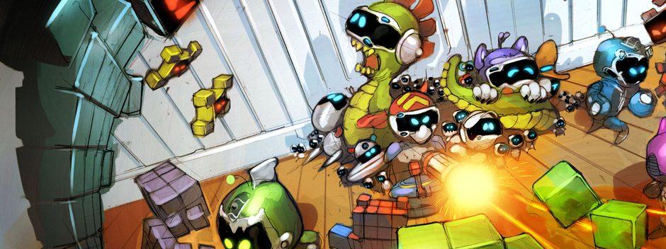 Le nouveau jeu «Guerres des jouets» rejoint The Playroom VR aujourd'hui et c'est gratuit !