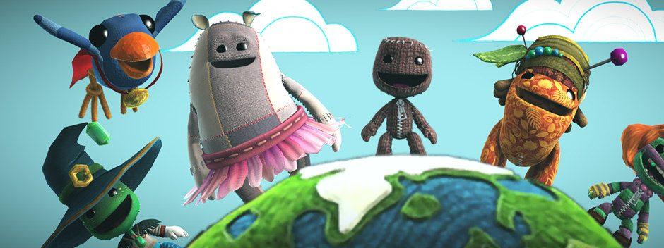 Il y a plus de 10 millions de niveaux à découvrir dans LittleBigPlanet 3. En voici trois à essayer !