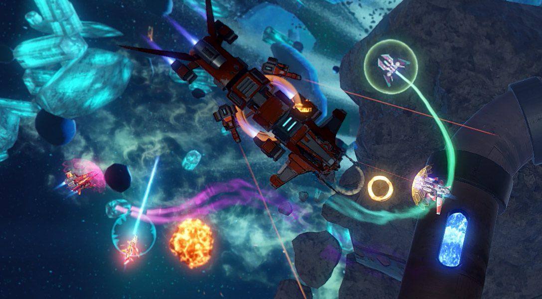 Climax Studios présente Riftstar Raiders, un shoot'em up à quatre en coopération sur PS4