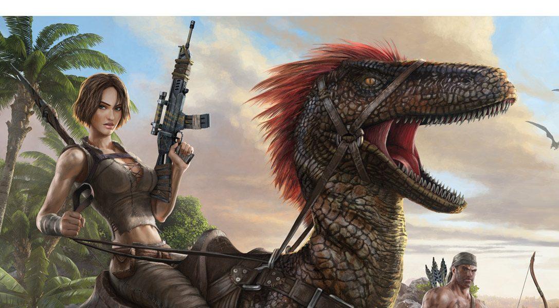 ARK: Survival Evolved en tête des ventes du PlayStation Store pour le second mois d'affilée
