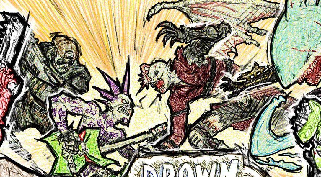 Les membres PS Plus pourront jouer à Drawn to Death gratuitement sur PS4 le mois prochain