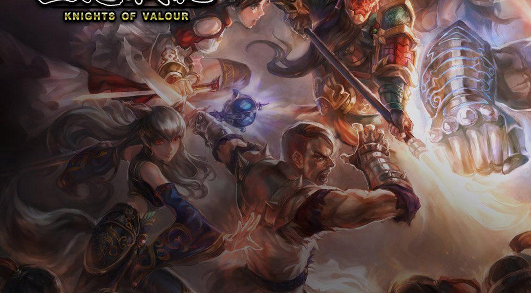 6 trucs à savoir sur Knights of Valour, un jeu de combat coopératif de style arcade qui débarque sur PS4