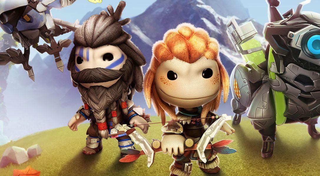 LittleBigPlanet 3: Horizon Zero Dawn – Pack de tenues disponible !