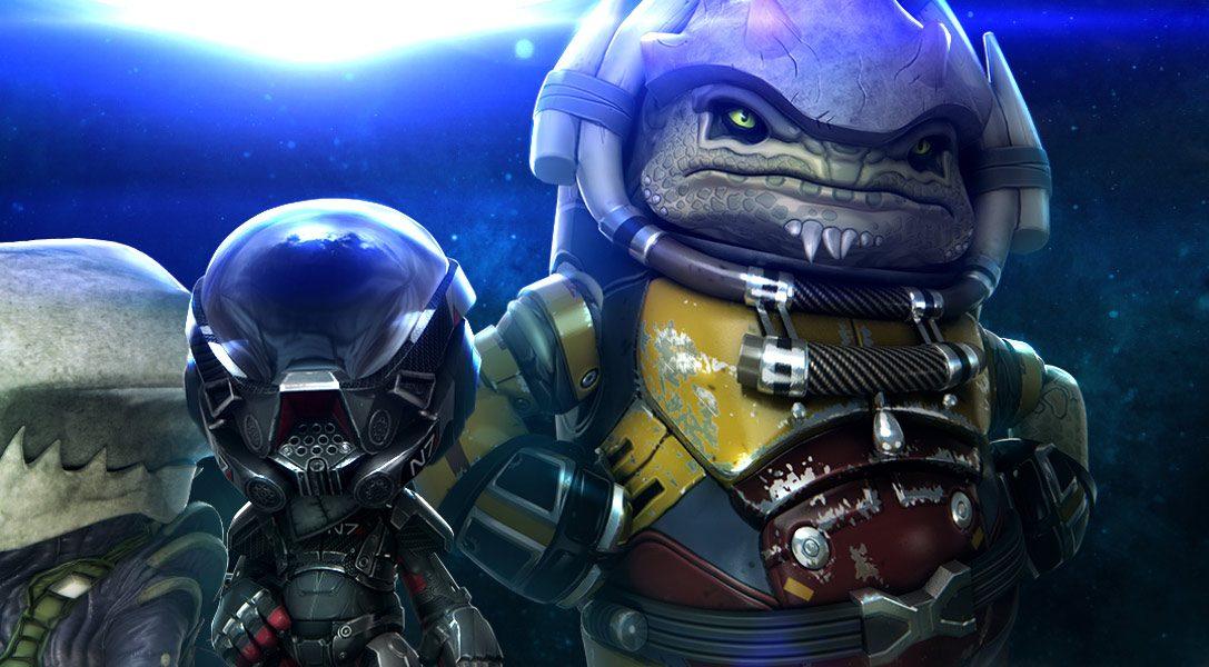 Le pack de tenues Mass Effect: Andromeda pour LittleBigPlanet 3 sera disponible dès demain !