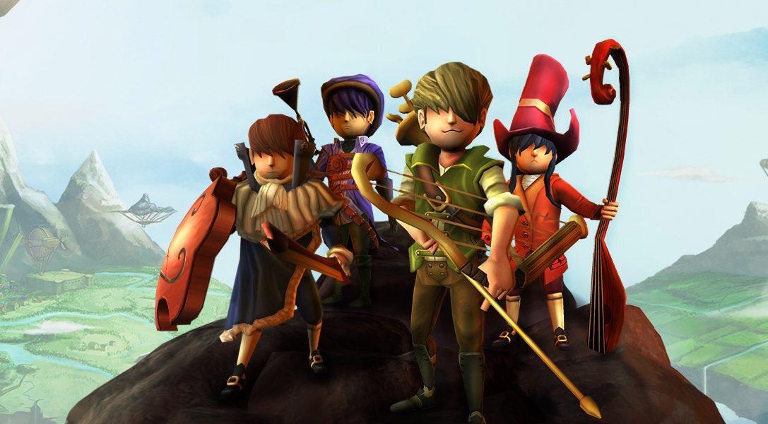 L'action RPG musical AereA arrive sur PS4 en ce mois de juin