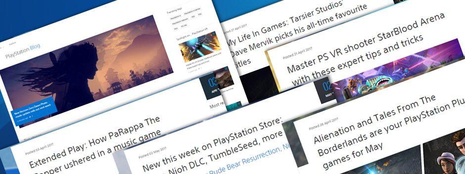 Bienvenue sur le nouveau design du PlayStation Blog