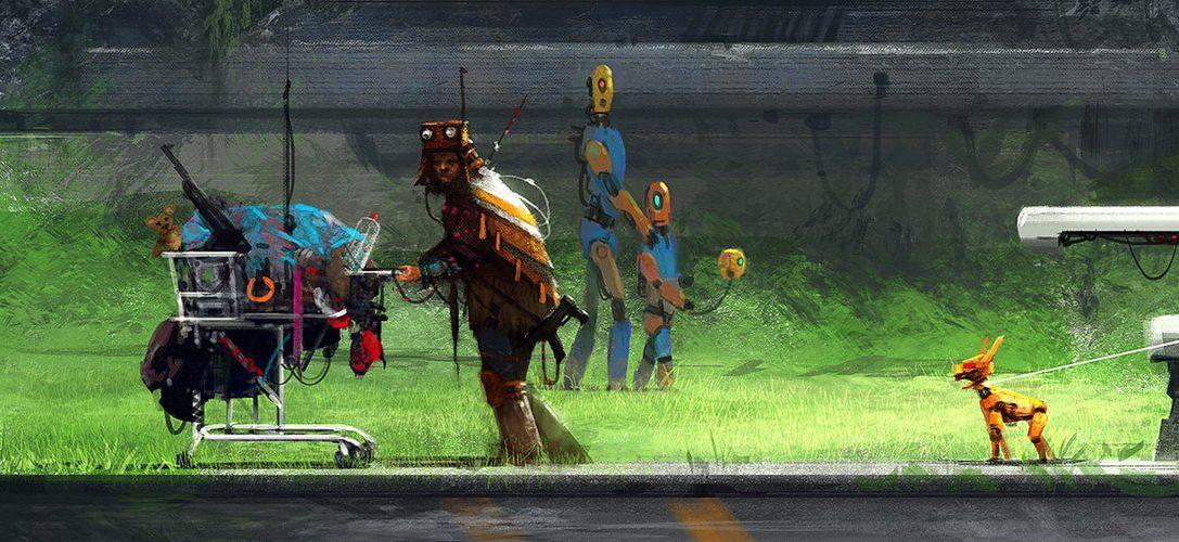Découvrez la date de sortie et le mode coopération en local de Nex Machina, le nouveau jeu d'arcade de Housemarque