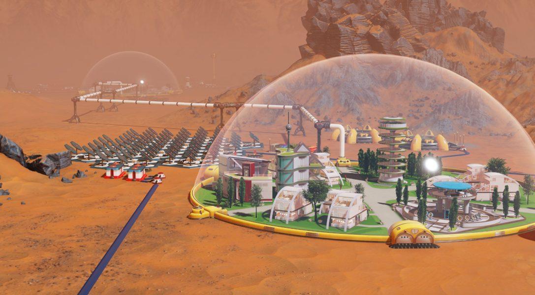 À vous de gérer une colonie interplanétaire dans Surviving Mars sur PS4