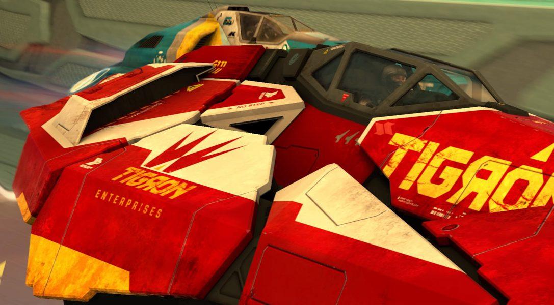 Découvrez le nouveau véhicule de WipEout Omega Collection : le Tigron K-VSR