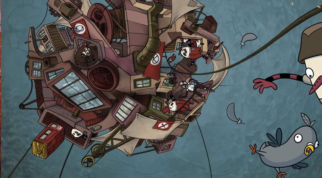 Comment un simple pigeon a volé la vedette dans le jeu d'aventure The Inner World sur PS4