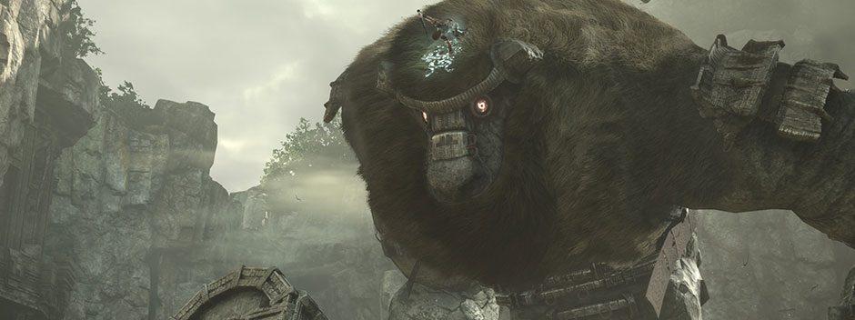Découvrez le premier trailer du remaster PS4 de Shadow of the Colossus