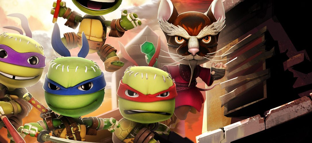 LittleBigPlanet 3: Pack de tenues Les méchants des Tortues Ninja sort cette semaine