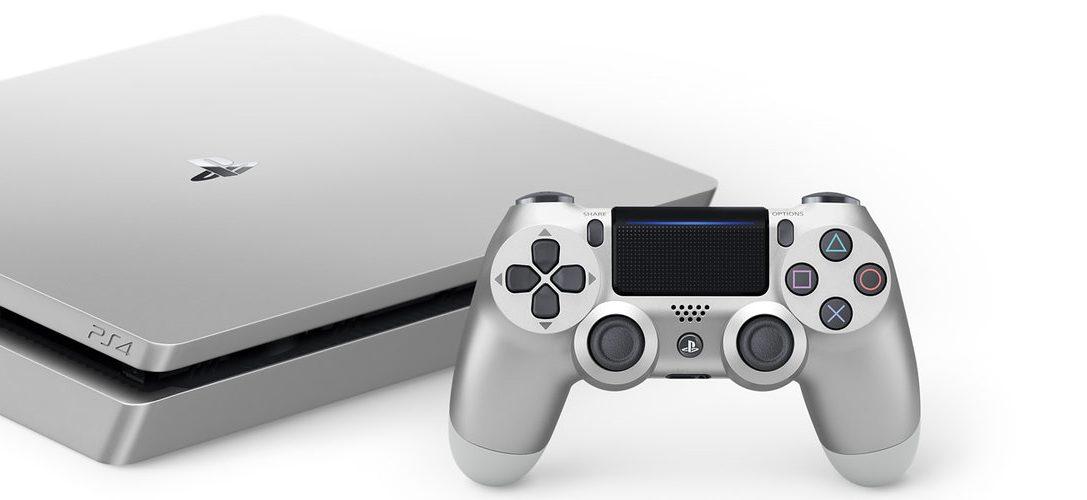 Les PS4 en Edition Limitées Gold et Silver rejoignent la famille PlayStation 4 ce mois-ci