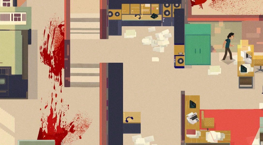 Serial Cleaner, le jeu d'infiltration dans lequel vous devez détruire les preuves d'un crime au nez et à la barbe de la police, sera disponible le 11 juillet
