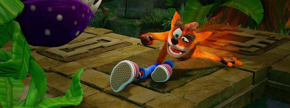Crash Bandicoot N. Sane Trilogy en tête des ventes du PlayStation Store en Juin