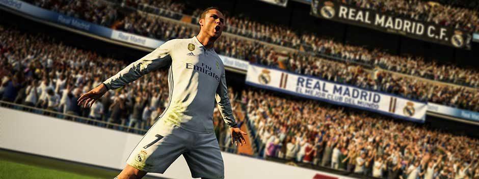 Nouvelle gamme de packs PlayStation 4 FIFA 18, disponible dès le 29 septembre