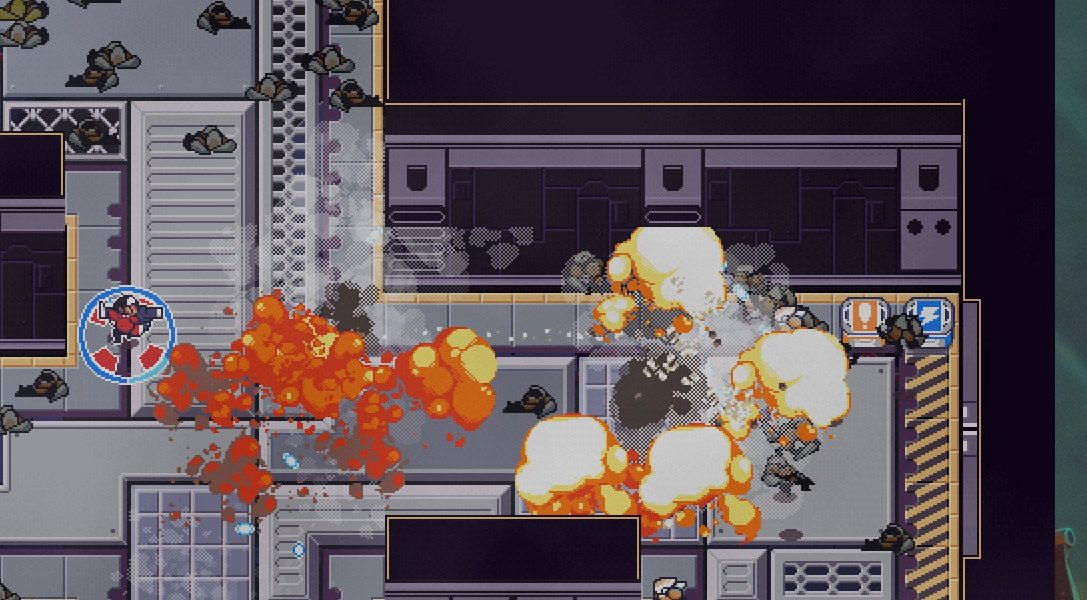 Tout ce qu'il faut savoir sur Circuit Breakers, le jeu de tir à deux joysticks en coop.