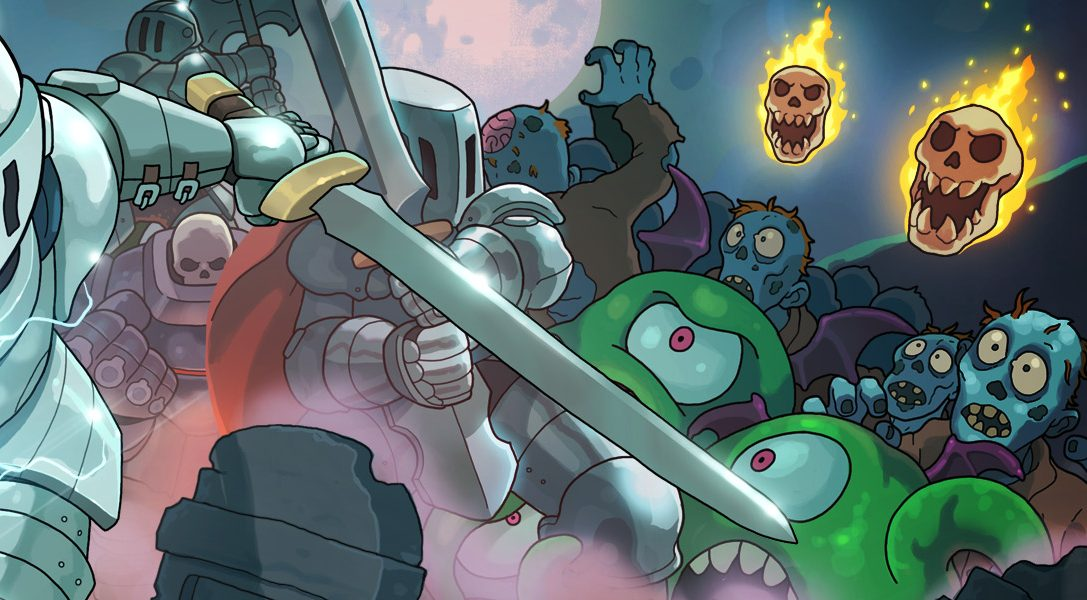 Enfilez votre armure de chevalier et préparez-vous au combat dans Iron Crypticle, jeu d'arcade/tir à deux sticks