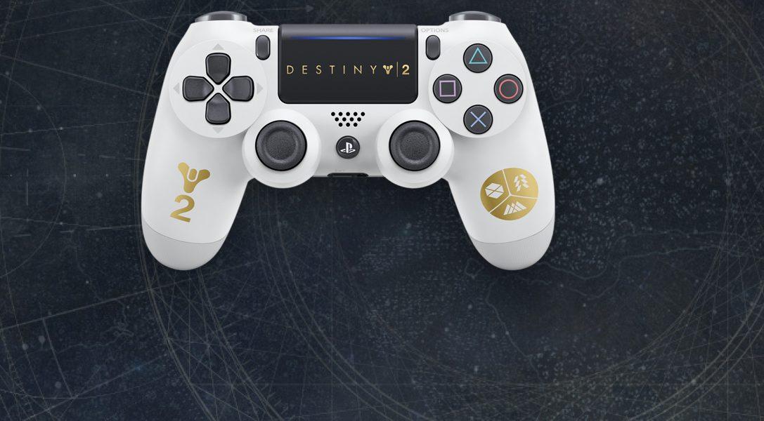 Manette sans fil DUALSHOCK 4 Destiny 2 en édition limitée et nouveaux bundles PS4