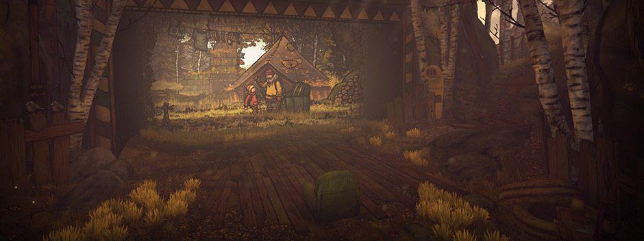 The Lost Bear, le jeu de plateforme en 2D cinématique, débarque sur PS VR ce mois-ci