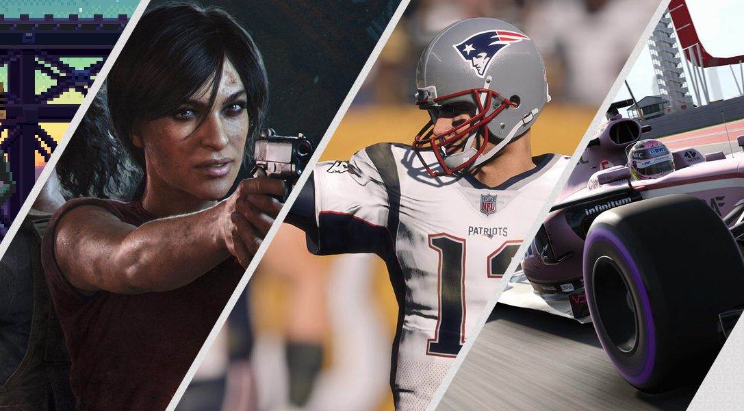 Mise à jour du PlayStation Store : Uncharted The Lost Legacy, Madden NFL 18, F1 2017, The Escapist 2 et bien d'autres