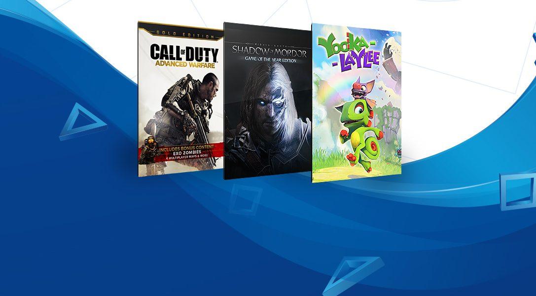 Les jeux à moins de 20€ sont de retour sur le PlayStation Store !