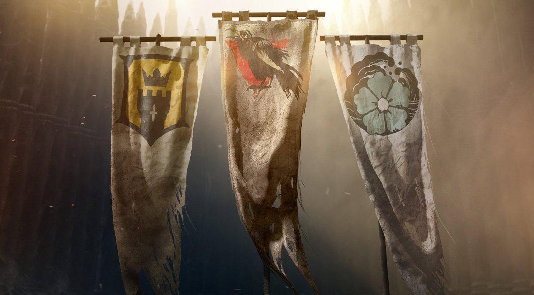 Découvrez aujourd'hui les nouveaux héros et les nouvelles cartes de For Honor lors de la finale du tournoi Hero Series Finals