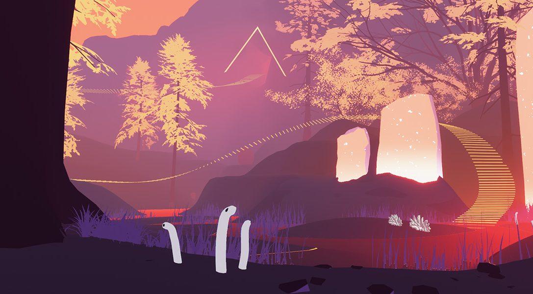 Shape of the World, jeu d'exploration abstrait prévu pour début 2018 sur PS4, nous révèle ses secrets