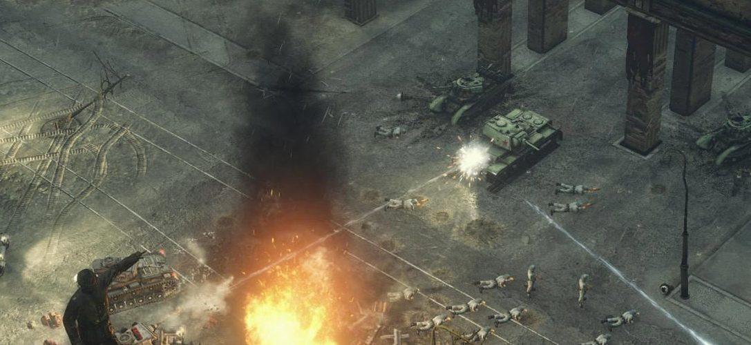 L'authenticité des champs de bataille et des armes de Sudden Strike sur PS4