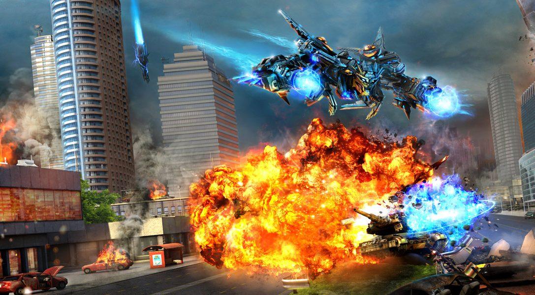 Le jeu de tir/tower defense hybride X-Morph: Defense propose de la coopération en 60 ips sur écran partagé pour PS4 Pro