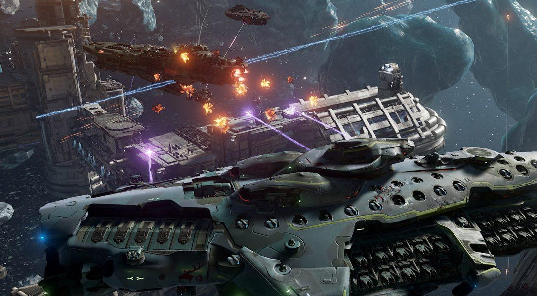 Nouvelle bande-annonce et lancement de la bêta ouverte pour Dreadnought, le jeu axé science-fiction, sur PS4