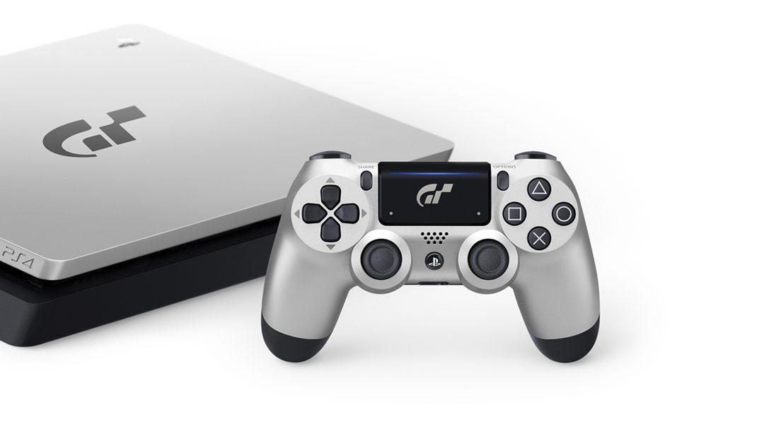 Découvrez la console PlayStation 4 Édition limitée Gran Turismo Sport