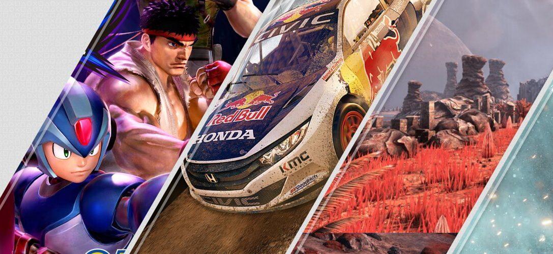 Mise à jour du PlayStation Store : Marvel vs. Capcom: Infinite, Project CARS 2, The Solus Project VR