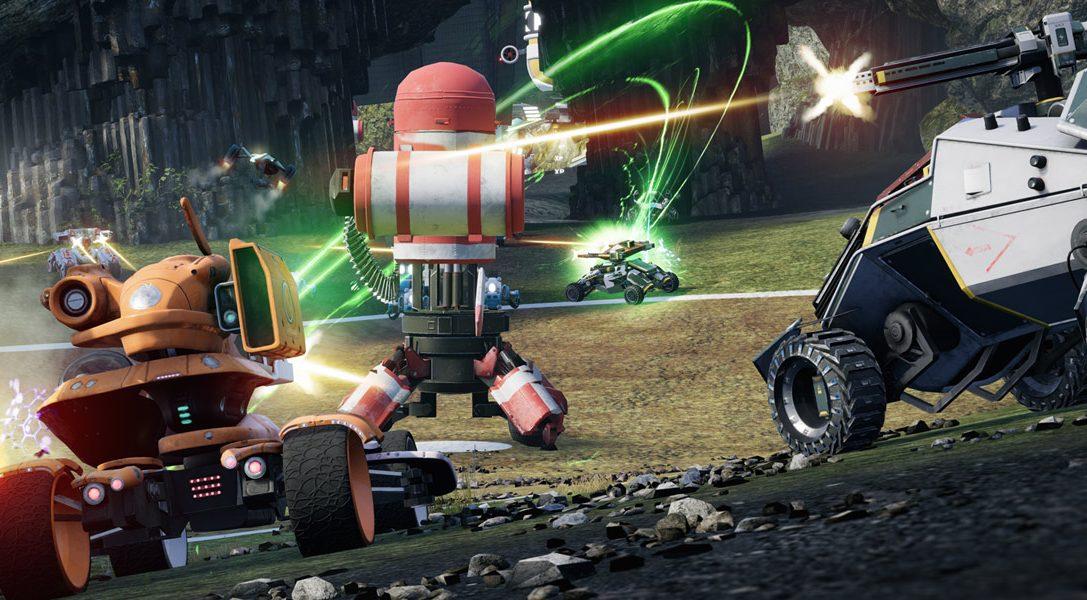 Les vétérans de Blur et de Geometry Wars reviennent avec le jeu de combat motorisé multijoueur Switchblade sur PS4