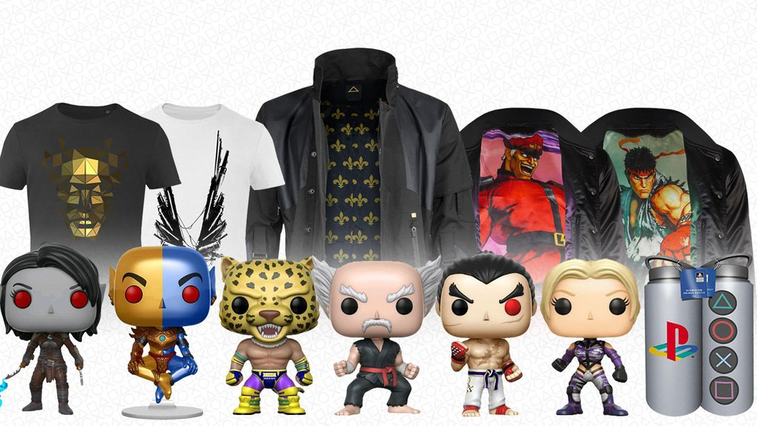 De nouvelles figurines Pop! Vinyl, des vestes teddy premium, et d'autres nouveautés débarquent sur PlayStation Gear